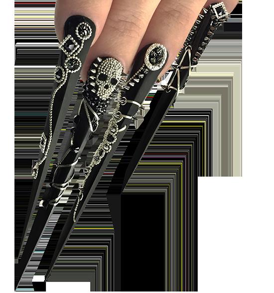 Kostka Nail Art