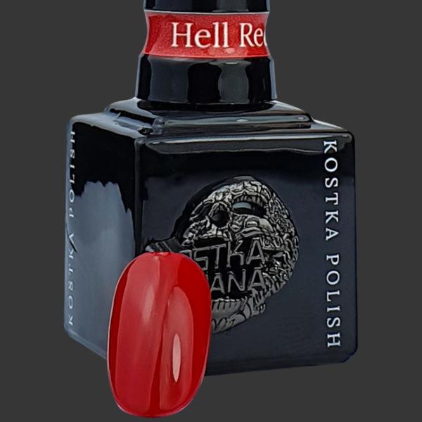 Kostka Polish Color Hell Red
